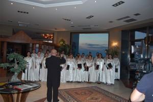 Corul Divina Armonie Coltea 2015-Marius Firca si corul