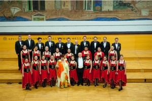 Corul Divina Armonie Coltea 2015-Paula Ciuclea si Corul Academic