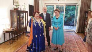 Paula Ciuclea impreuna cu Ambasadorul Austriei-Gerhard Reiweger